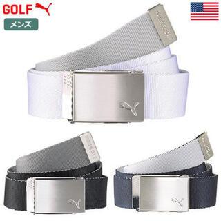 プーマ(PUMA)のプーマ リバーシブル Webbing  Golf Belt   ブラック(ベルト)