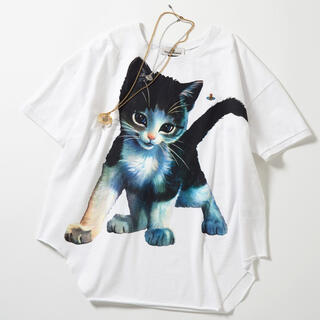 Vivienne Westwood - ヴィヴィアン ウエストウッド キトゥン バギー Tシャツ