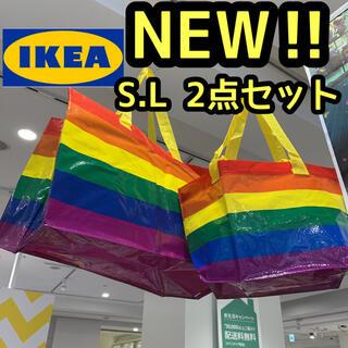 IKEA - IKEA ストールストッマ イケア フラクタ エコバッグ トートバッグ