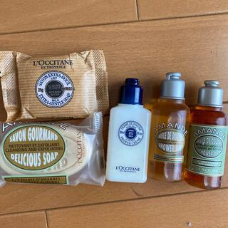 ロクシタン(L'OCCITANE)のロクシタン ミニチュア 石鹸&ボディソープセット ミニ サイズ(ボディソープ/石鹸)