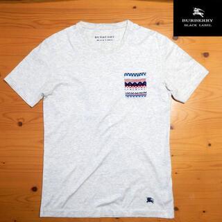 バーバリーブラックレーベル(BURBERRY BLACK LABEL)のBURBERRY   バーバリーブラックレーベル ポケットTシャツ(Tシャツ/カットソー(半袖/袖なし))