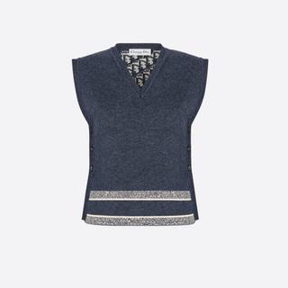 Dior - 未使用 ディオール リバーシブル ニット ベスト サイズ36
