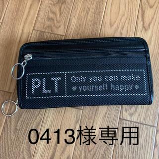 ピンクラテ(PINK-latte)のピンクラテ 財布 黒(財布)