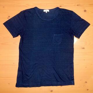 FREEMANS SPORTING CLUB インディゴ Tシャツ サイズM(Tシャツ/カットソー(半袖/袖なし))