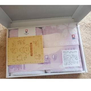 今治タオル - 新品♪ 限定品✨桜柄✨ 今治タオル ふんわり フェイスタオル 2枚セット