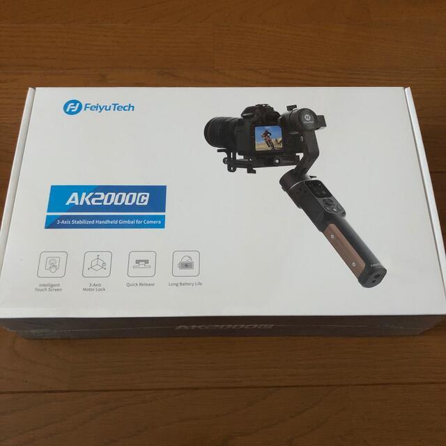 AK2000c 新品未開封 FeiyuTech ジンバル スタビライザー スマホ/家電/カメラのカメラ(デジタル一眼)の商品写真