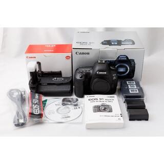 Canon - CANON EOS 5D Mark4 グリップBG-E20と予備バッテリー付