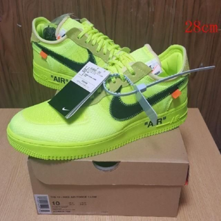 28NIKE AIR FORCE 1 LOW THE 10 OFF WHITE