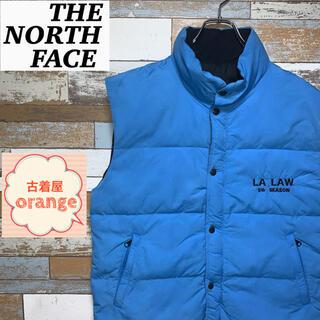 THE NORTH FACE - 【希少】【人気】ノースフェイス ダウンベスト 珍しいデザイン アウター