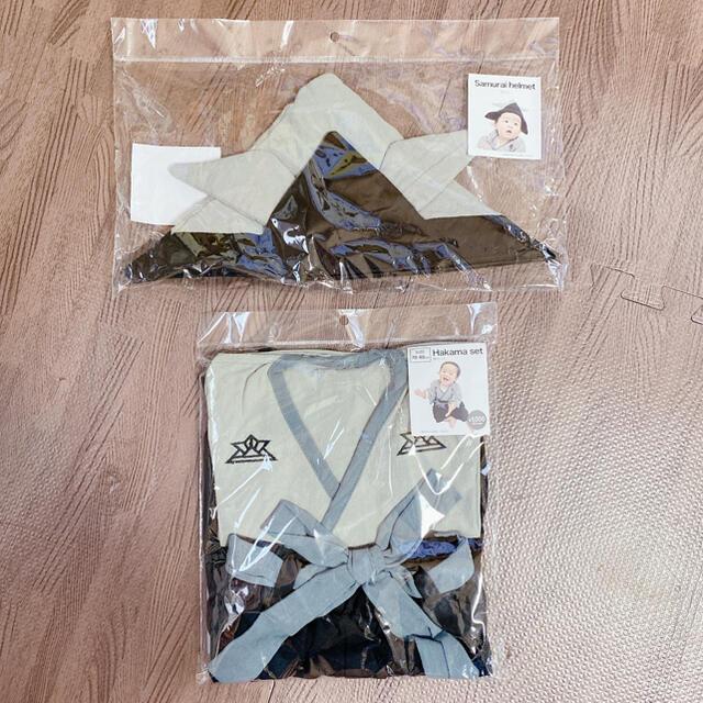 3COINS(スリーコインズ)のスリーコインズ/袴セット キッズ/ベビー/マタニティのメモリアル/セレモニー用品(その他)の商品写真