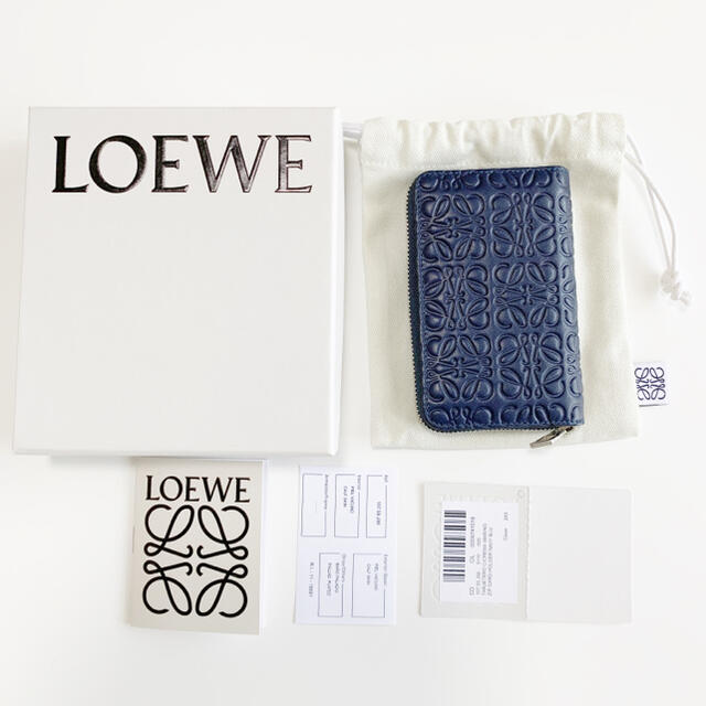 LOEWE(ロエベ)の【未使用】LOEWE ロエベ カードケース レディースのファッション小物(名刺入れ/定期入れ)の商品写真