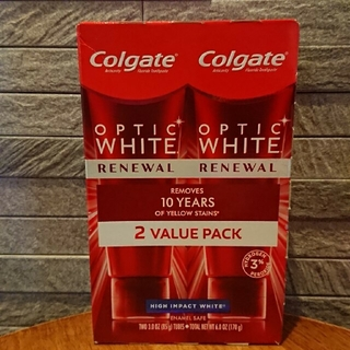 Colgate Optic White HI 85g 2本セット