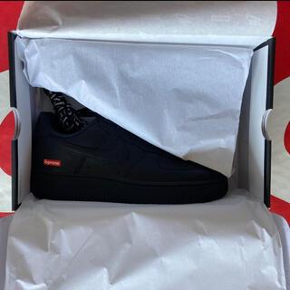 Supreme - Supreme Nike Air Force1 Low 27.5cm Black