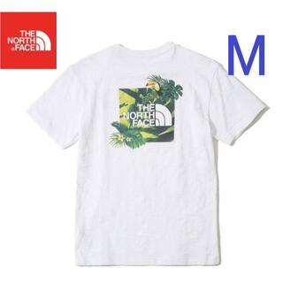 THE NORTH FACE - SALE❗  ノースフェイス Tシャツ 半袖 トロピカル 白/M K49