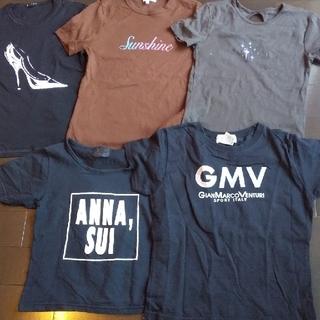アナスイ(ANNA SUI)のTシャツ   5枚セット(Tシャツ(半袖/袖なし))