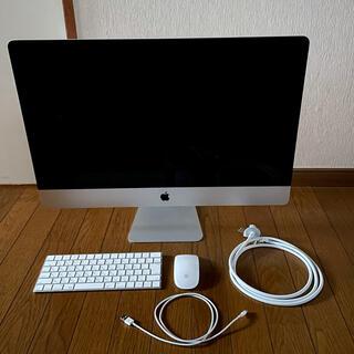 Mac (Apple) - iMac,late2015,27-inch,i7メモリ32GB SSD512GB