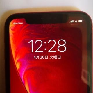 Apple - 美品 iPhoneXR 64gb レッド 残債なし simフリー