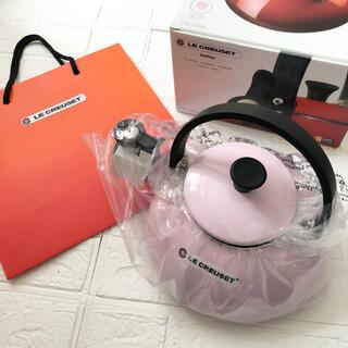LE CREUSET - 《新品未使用》ルクルーゼ ケトル・ ゼン 1.5L ピンク やかん