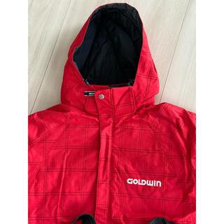 ゴールドウィン(GOLDWIN)のGOLDWIN キッズ150 スキーウェア上下セット 調節可能(ウエア)