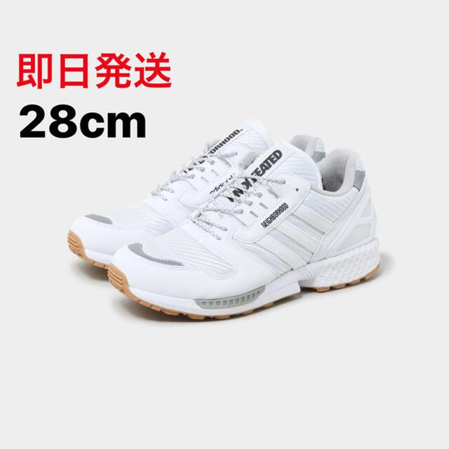 NEIGHBORHOOD(ネイバーフッド)の28cm UNDFTD × NBHD adidas ZX 8000 White メンズの靴/シューズ(スニーカー)の商品写真