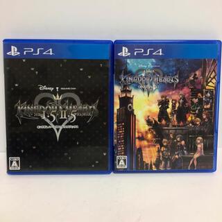 PlayStation4 - キングダムハーツ1.5 2.5 3  キングダムハーツ3 PS4