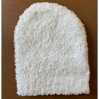 カシウエア(kashwere)の【未使用】カシウェア ベビー帽子 ニット帽(帽子)