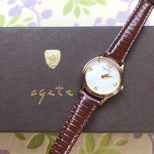 agete(アガット)のMinami's  様 😊 agete   ⑯   腕時計・稼動品✨ レディースのファッション小物(腕時計)の商品写真