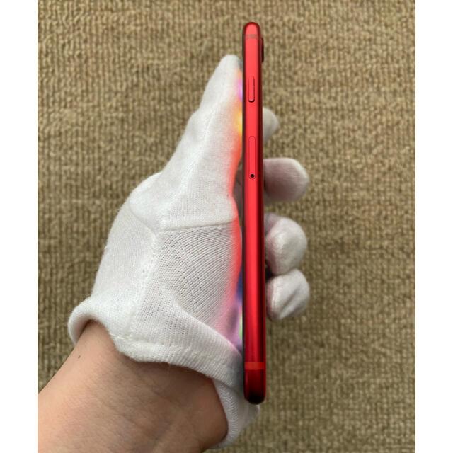 Apple(アップル)のiPhone SE2 128GB SIMフリー レッド おまけ付き スマホ/家電/カメラのスマートフォン/携帯電話(携帯電話本体)の商品写真