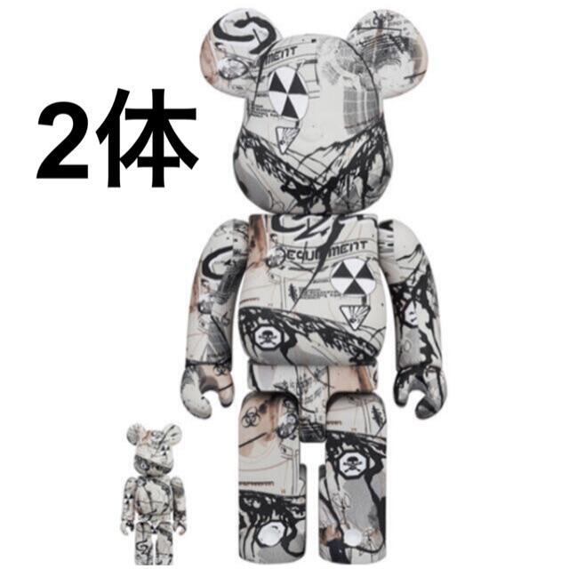 BE@RBRICK Hiroki Tsukuda 100% & 400% エンタメ/ホビーのエンタメ その他(その他)の商品写真