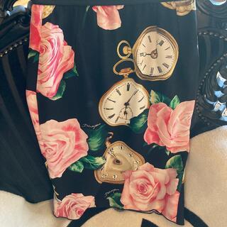 DOLCE&GABBANA - 美品です‼️DOLCE&GABBANA  タイトスカート36