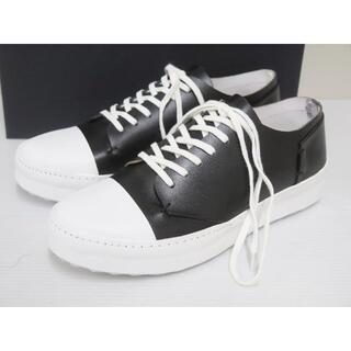 イサムカタヤマバックラッシュ(ISAMUKATAYAMA BACKLASH)のBACKLASH 636-03 Artisan Sneakers 美品(スニーカー)