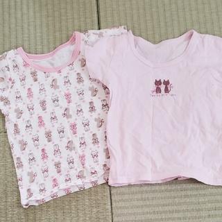 ニシマツヤ(西松屋)のネコちゃん♡インナーTシャツ(Tシャツ/カットソー)