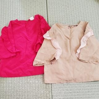 プティマイン(petit main)のプティマイン♡フリルトップス(Tシャツ/カットソー)