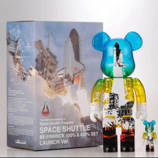 MEDICOM TOY - SPACE SHUTTLE BE@RBRICK LAUNCH 限定 希少