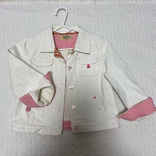ファミリア(familiar)のファミリア エフダッシュ fdash  ジャケット 白 ホワイト オフホワイト(ジャケット/上着)