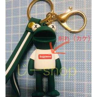 【訳あり】カーミット×シュプリーム×kaws フィギュアキーホルダー カウズ(その他)