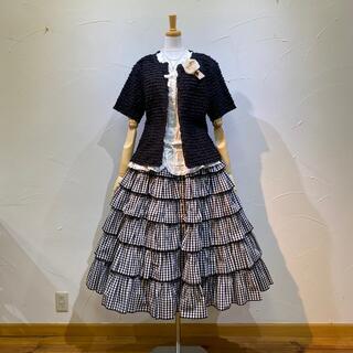 KANEKO ISAO - ワンダフルワールド 大変豪華で素晴らしい段々スカートで、久々の入荷です❗️