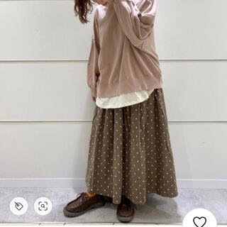 SM2 - 新品☆SM2 裏毛裾重ねプルオーバー*ベージュ