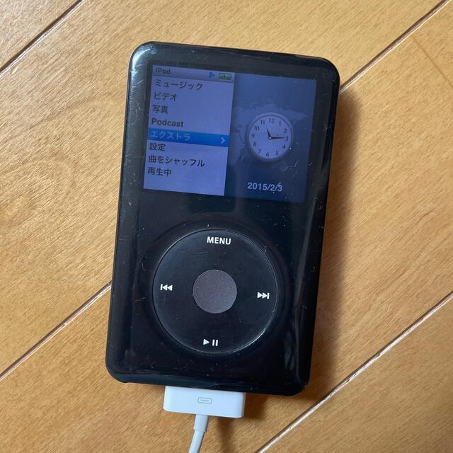 Apple(アップル)のiPod Classic 160GB スマホ/家電/カメラのオーディオ機器(ポータブルプレーヤー)の商品写真
