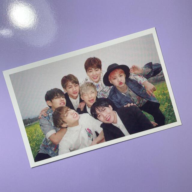 防弾少年団(BTS)(ボウダンショウネンダン)のbts トレカ エンタメ/ホビーのCD(K-POP/アジア)の商品写真