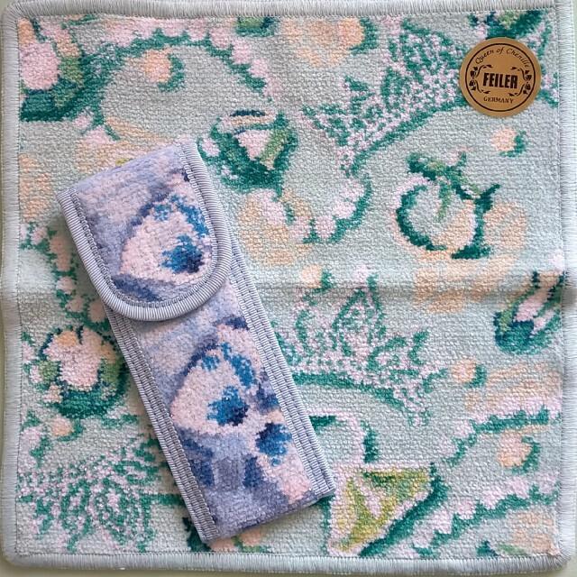 FEILER(フェイラー)のフェイラー サムシングブルー コラボ セット レディースのファッション小物(その他)の商品写真