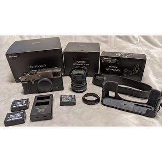 富士フイルム - 【付属品多数】FUJIFILM X-Pro3 DR ブラック ボディ レンズ