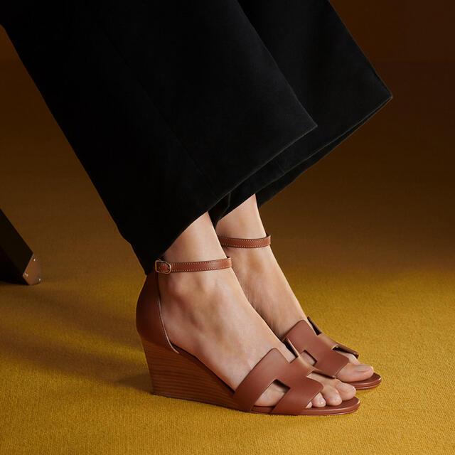 Hermes(エルメス)のエルメス サンダル 《レジェンド》 レディースの靴/シューズ(サンダル)の商品写真