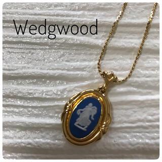 ウェッジウッド(WEDGWOOD)のWedgwood ジャスパー フラワーガール ネックレス ペンダント(ネックレス)