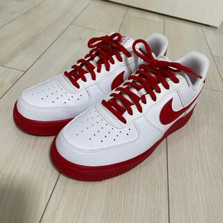 NIKE - Nike Air Force 1 Red and White