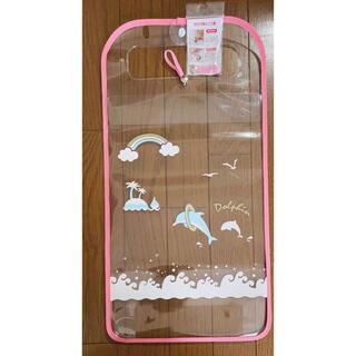 ランドセルカバー 透明 女の子 日本製 反射 デコらん かわいい イルカ