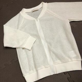 MERCURYDUO - MERCURYDUO マーキュリーデュオ メッシュブルゾン ジャケット 羽織り