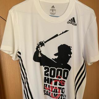 アディダス(adidas)の巨人 ジャイアンツ 坂本勇人 2000安打記念 Tシャツ(応援グッズ)