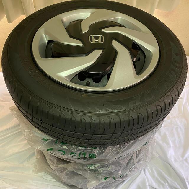 DUNLOP(ダンロップ)のダンロップ製! ホンダ純正ホイールタイヤ 自動車/バイクの自動車(タイヤ・ホイールセット)の商品写真