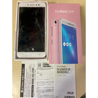 ASUS - ASUS ZenFone Live ピンク 本体 SIMフリー スマホ